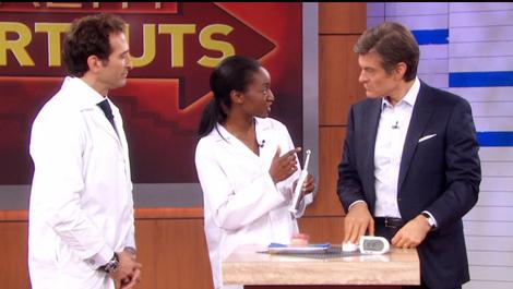West Hartford Dentist Visits the Dr. Oz Show